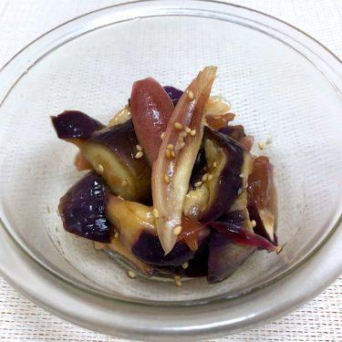 【簡単料理】レンジで2分!なすとみょうがの梅ぽん&夏に良い!なすとみょうがの味噌汁