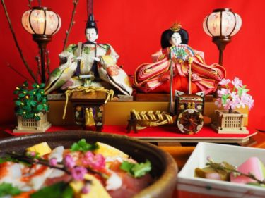 ひな祭りにちらし寿司を食べる意味|縁起の良い具材の意味も